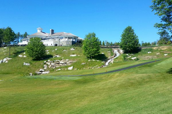 Boothbay_Harbor_Country_Club_Clubhouse_waterfall_Hole_1